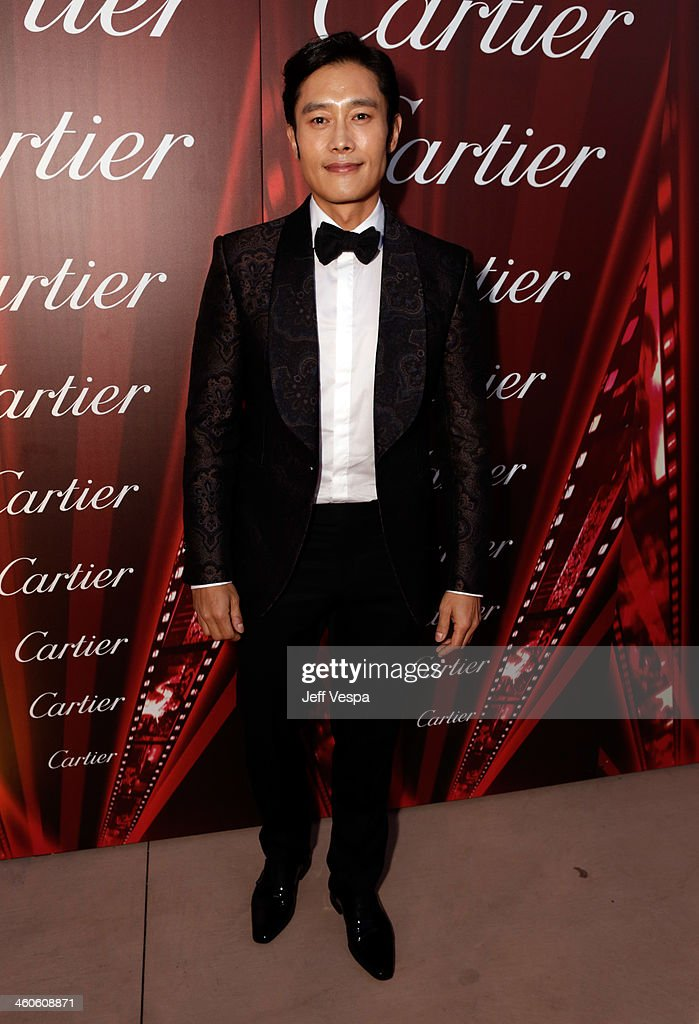 Actor Byung-hun Lee arrives at the 25th annual Palm Springs International Film Festival awards gala at Palm Springs Convention Center on January 4, 2014 in Palm Springs, California.