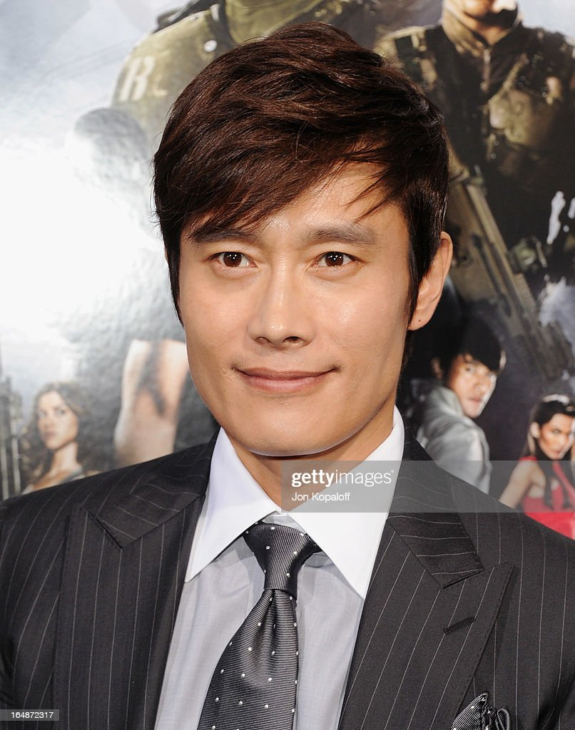 Actor Byung-hun Lee arrives at the Los Angeles Premiere 'G.I. Joe: Retaliation' at TCL Chinese Theatre on March 28, 2013 in Hollywood, California.