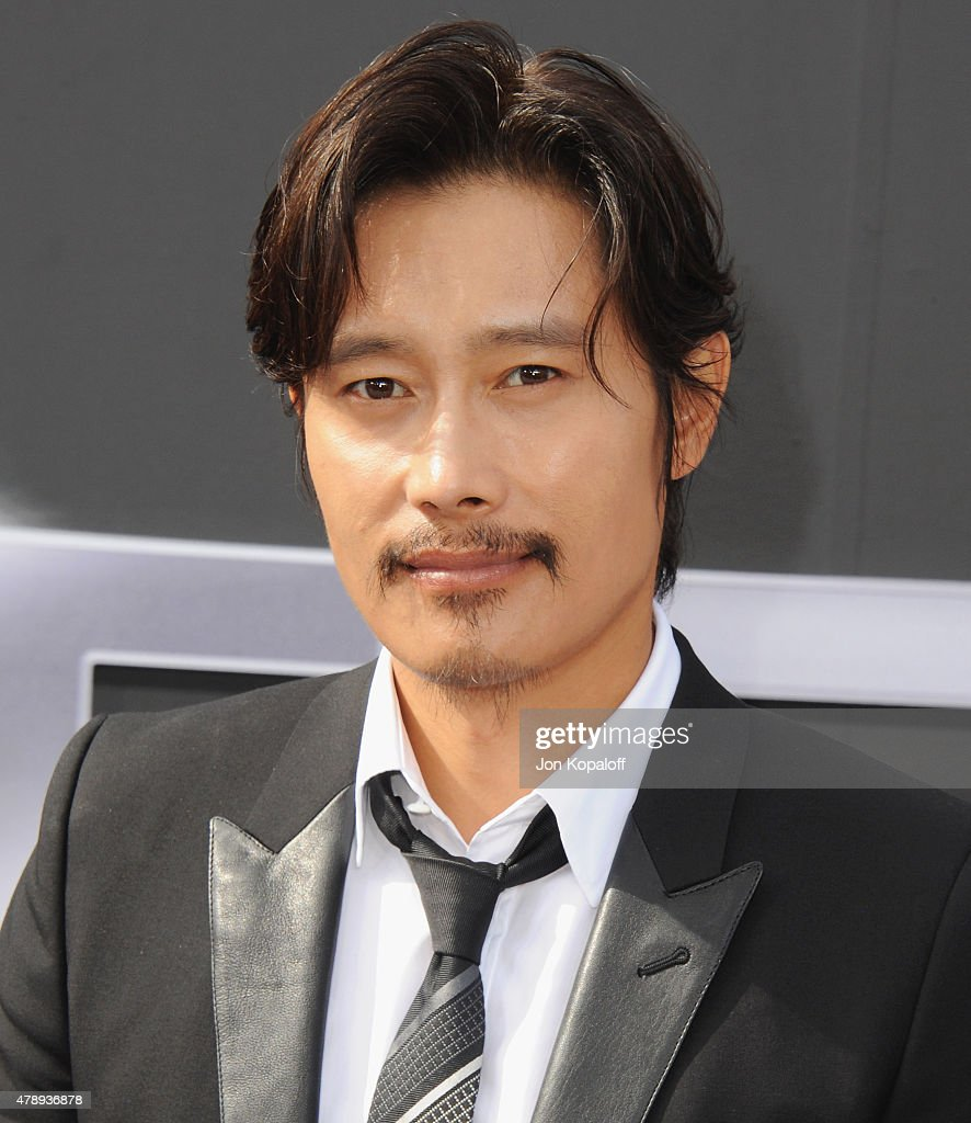Actor Byung-hun Lee arrives at the Los Angeles Premiere 'Terminator Genisys' at Dolby Theatre on June 28, 2015 in Hollywood, California.