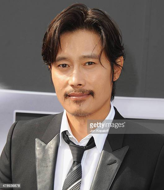 Actor Byunghun Lee arrives at the Los Angeles Premiere 'Terminator Genisys' at Dolby Theatre on June 28 2015 in Hollywood California