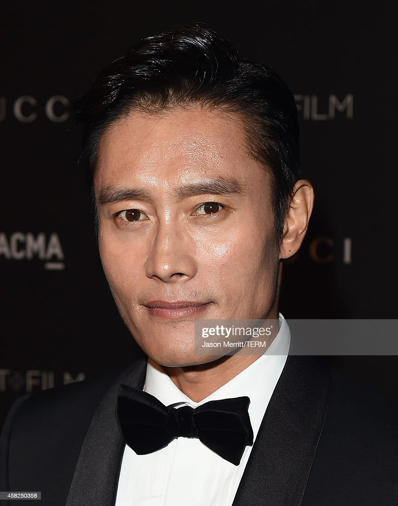 Actor Byung-hun Lee attends the 2014 LACMA Art + Film Gala honoring Barbara Kruger and Quentin Tarantino at LACMA on November 1, 2014 in Los Angeles, California.