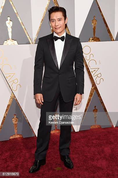 Actor Byunghun Lee attends the 88th Annual Academy Awards at Hollywood Highland Center on February 28 2016 in Hollywood California