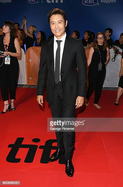 Actor Byunghun Lee attends 'The Magnificent Seven' premiere during the 2016 Toronto International Film Festival at Roy Thomson Hall on September 8...