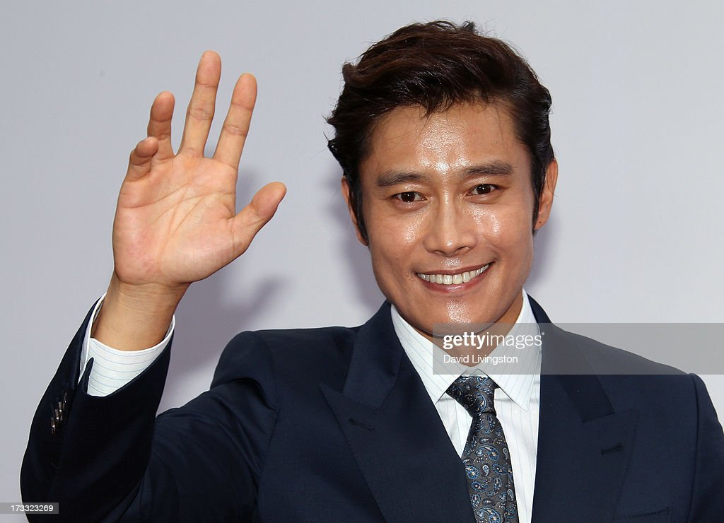 Actor Byung-hun Lee attends the premiere of Summit Entertainment's 'RED 2' at Westwood Village on July 11, 2013 in Los Angeles, California.