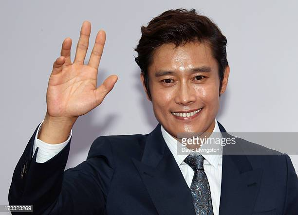 Actor Byunghun Lee attends the premiere of Summit Entertainment's 'RED 2' at Westwood Village on July 11 2013 in Los Angeles California