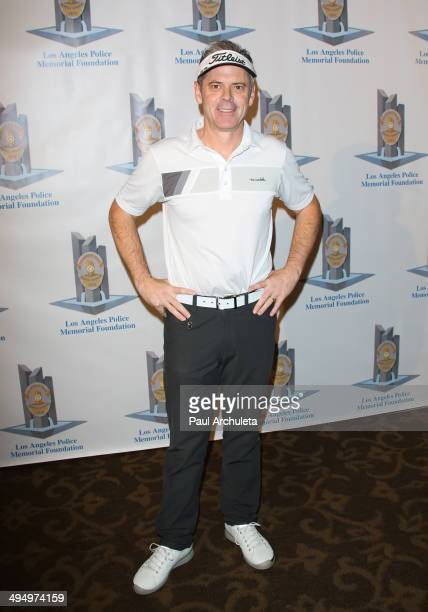 Actor C Thomas Howell attends the Los Angeles Police Memorial Foundation Celebrity Golf Tournament Family Fun Day at Brookside Golf Club on May 31...