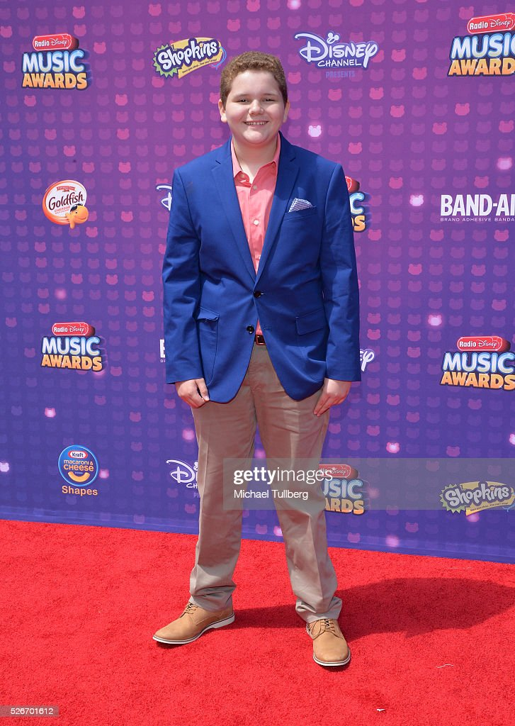 Actor Cade Sutton attends the 2016 Radio Disney Music Awards at Microsoft Theater on April 30, 2016 in Los Angeles, California.
