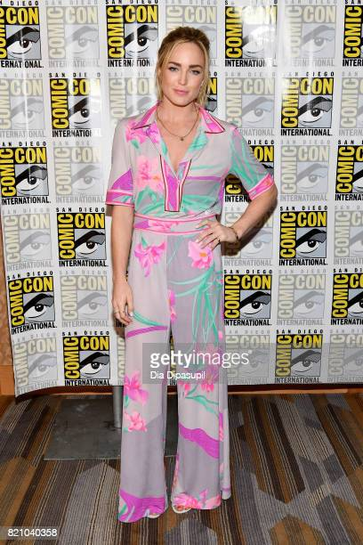 Actor Caity Lotz at DC's 'Legends Of Tomorrow' Press Line duirng ComicCon International 2017 at Hilton Bayfront on July 22 2017 in San Diego...