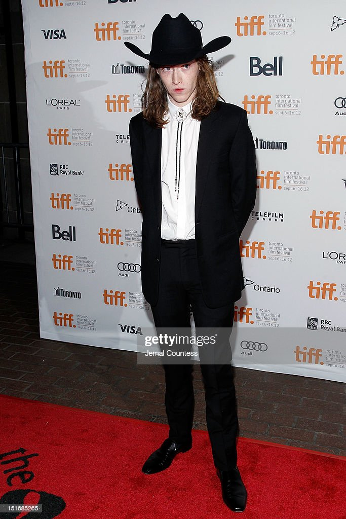 Actor Caleb Landry Jones attends the 'Byzantium' premiere during the 2012 Toronto International Film Festival at Ryerson Theatre on September 9, 2012 in Toronto, Canada.