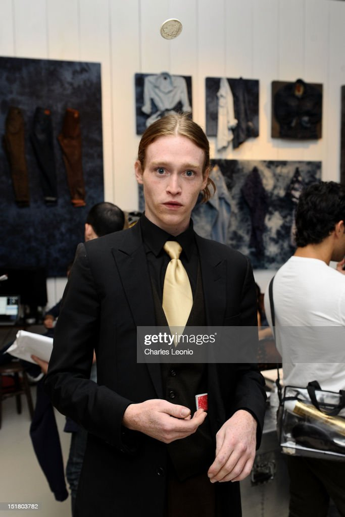 Actor Caleb Landry Jones attends the Guess Portrait Studio during 2012 Toronto International Film Festivalat at the Bell Lightbox on September 11, 2012 in Toronto, Canada.