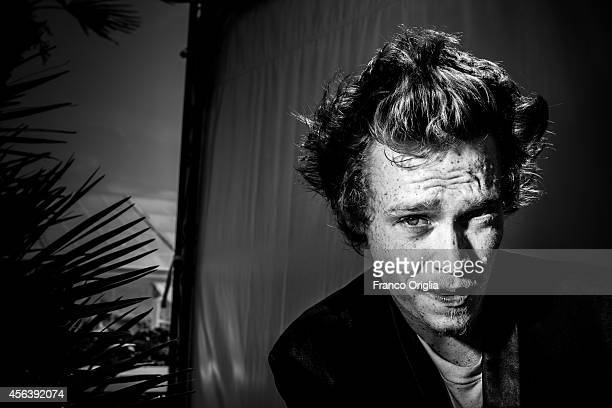 Actor Caleb Landry Jones is photographed on September 1 2014 in Venice Italy