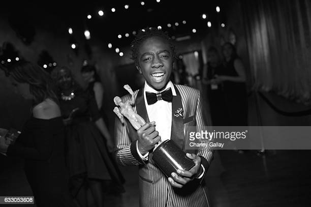 Actor Caleb McLaughlin attends The 23rd Annual Screen Actors Guild Awards at The Shrine Auditorium on January 29 2017 in Los Angeles California...