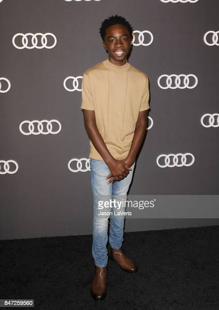 Actor Caleb McLaughlin attends the Audi celebration for the 69th Emmys at The Highlight Room at the Dream Hollywood on September 14 2017 in Hollywood...