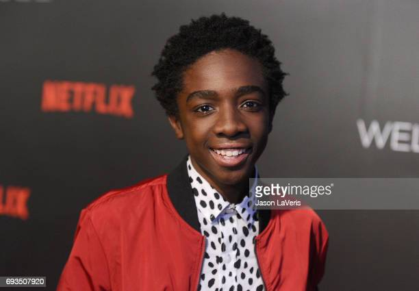 Actor Caleb McLaughlin attends the 'Stranger Things' FYC event at Netflix FYSee Space on June 6 2017 in Beverly Hills California
