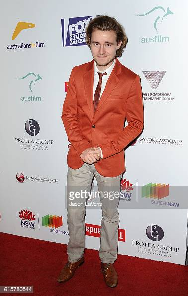 Actor Callan McAuliffe attends the Australians In Film 5th annual awards gala on October 19 2016 in Los Angeles California