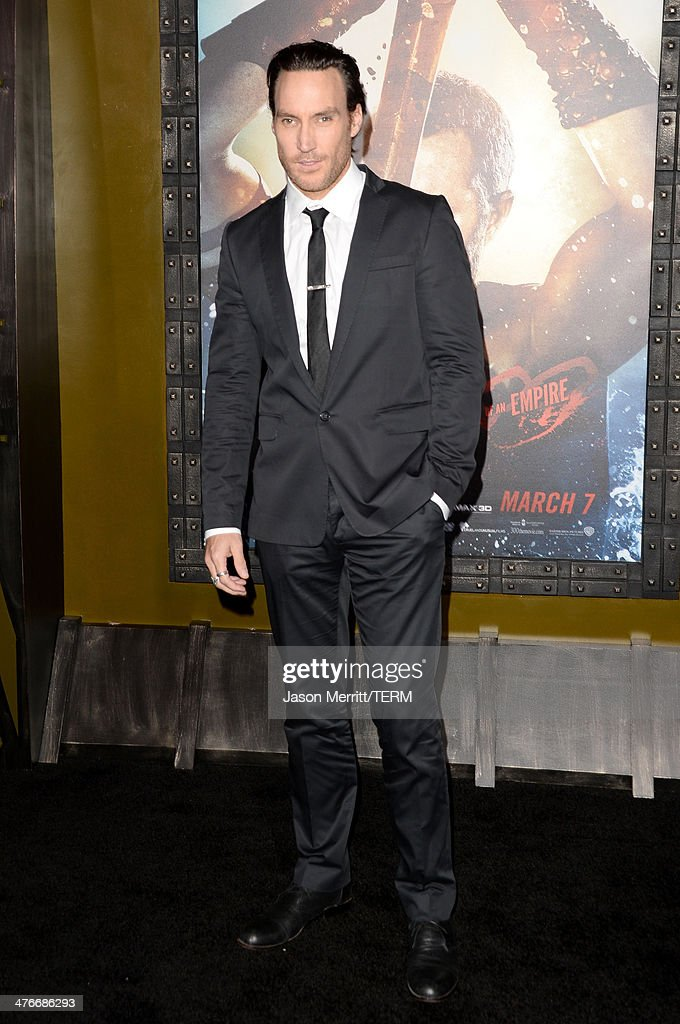 Actor Callan Mulvey attends the premiere of Warner Bros. Pictures and Legendary Pictures' '300: Rise Of An Empire' at TCL Chinese Theatre on March 4, 2014 in Hollywood, California.