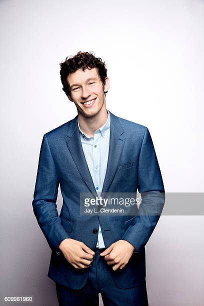 Actor Callum Turner from the film 'Tramps' poses for a portraits at the Toronto International Film Festival for Los Angeles Times on September 9 2016...