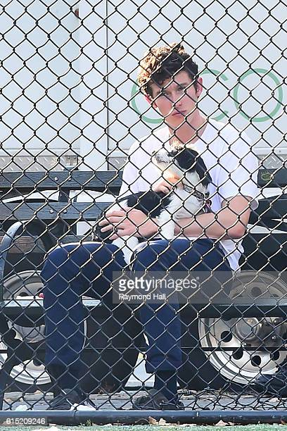 Actor Callum Turner is seen on the of 'The Only Living Boy In New York' on October 17 2016 in New York City