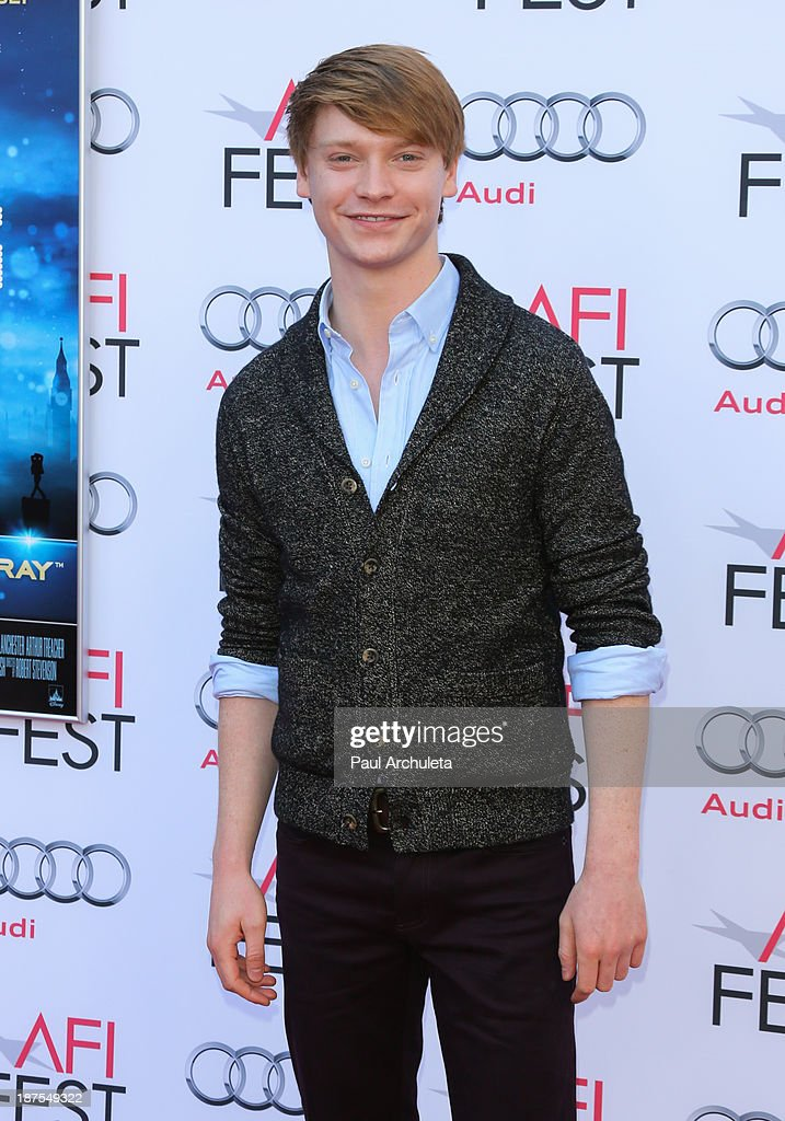 Actor Calum Worthy attends the 50th Anniversary of 'Mary Poppins' at AFI FEST 2013 at the TCL Chinese Theatre on November 9, 2013 in Hollywood, California.