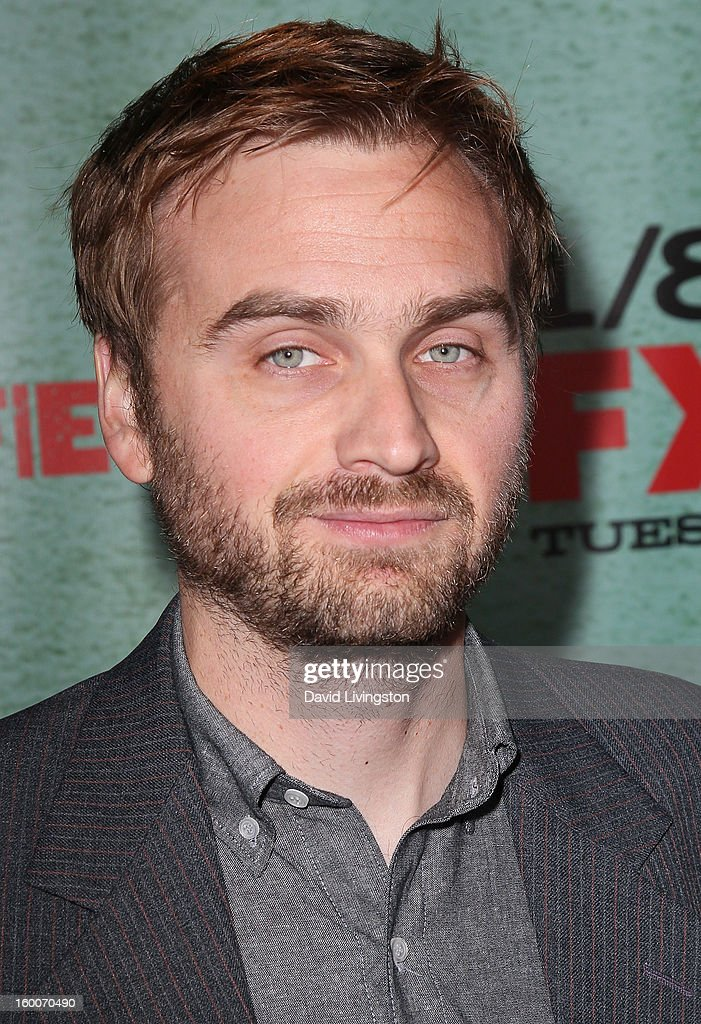 Actor Calvin Reeder attends the premiere of FX's 'Justified' Season 4 at the Paramount Theater on the Paramount Studios lot on January 5, 2013 in Hollywood, California.
