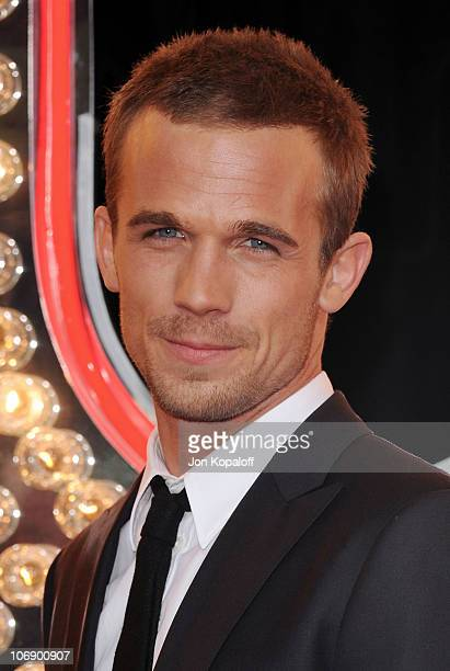 Actor Cam Gigandet arrives at the Los Angeles Premiere 'Burlesque' at Grauman's Chinese Theatre on November 15 2010 in Hollywood California