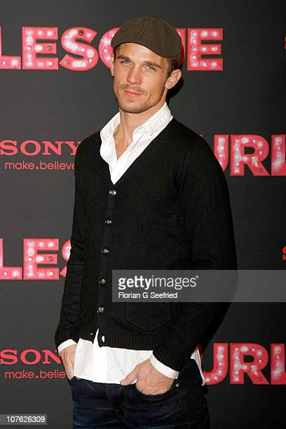 Actor Cam Gigandet attends the photocall of 'Burlesque' at Hotel Adlon on December 16 2010 in Berlin Germany