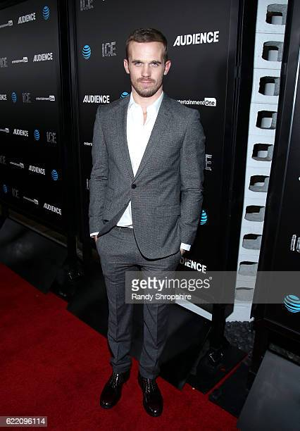 Actor Cam Gigandet attends the premiere of ATT Audience Network's 'ICE' at ArcLight Hollywood on November 9 2016 in Hollywood California