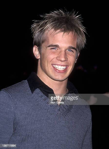 Actor Cam Gigandet attends 'The Shipping News' Westwood Premiere on December 9 2001 at Mann National Theatre in Westwood California