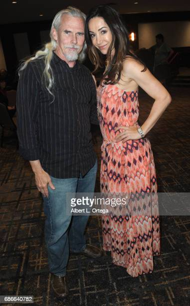 Actor Camden Toy and actress Robia LaMorte Scott attend WhedonCon 2017 held at Warner Center Marriott Woodland Hills on May 21 2017 in Woodland Hills...