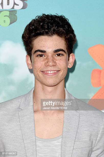Actor Cameron Boyce attends Nickelodeon's 2016 Kids' Choice Awards at The Forum on March 12 2016 in Inglewood California