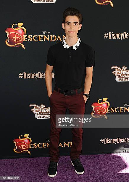 Actor Cameron Boyce attends the premiere of 'Descendants' at Walt Disney Studios Main Theater on July 24 2015 in Burbank California
