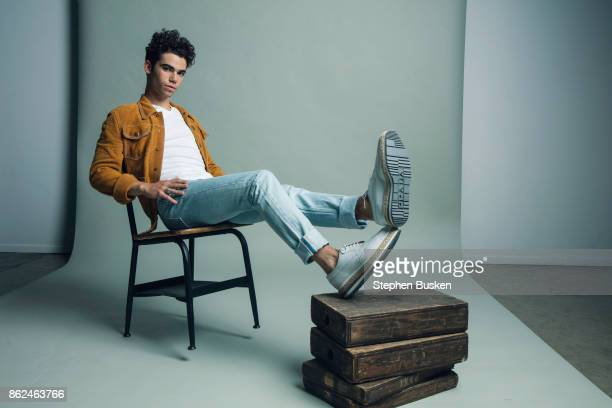 Actor Cameron Boyce is photographed for PopStar Magazine on June 27 2017 in Los Angeles California