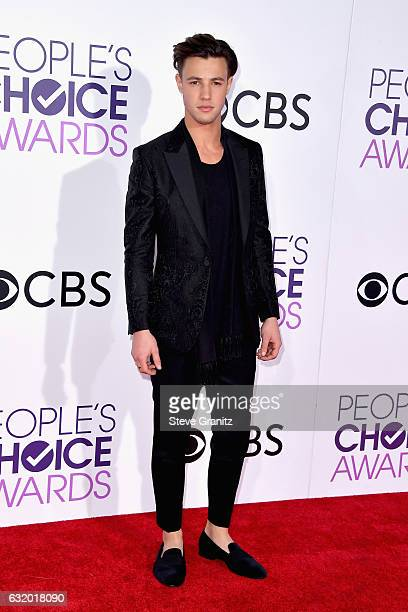 Actor Cameron Dallas attends the People's Choice Awards 2017 at Microsoft Theater on January 18 2017 in Los Angeles California