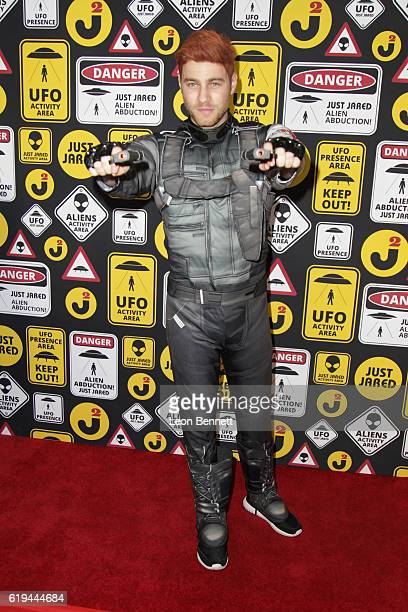 Actor Cameron Fuller arrives at the Just Jared's Annual Halloween Party Arrivals at Tenants of the Trees on October 30 2016 in Los Angeles California