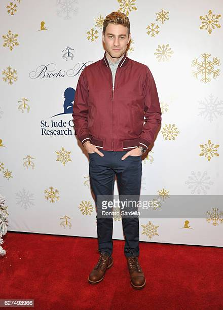 Actor Cameron Fuller attends Brooks Brothers holiday celebration with St Jude Children's Research Hospital on December 3 2016 in Beverly Hills...