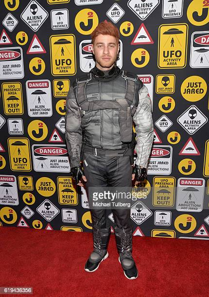 Actor Cameron Fuller attends Just Jared's Annual Halloween Party at Tenants of the Trees on October 30 2016 in Los Angeles California