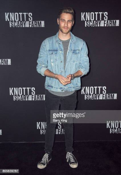 Actor Cameron Fuller attends Knott's Scary Farm and Instagram Celebrity Night at Knott's Berry Farm on September 29 2017 in Buena Park California