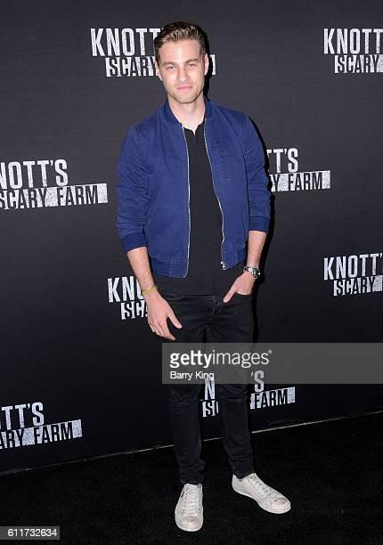 Actor Cameron Fuller attends Knott's Scary Farm black carpet event at Knott's Berry Farm on September 30 2016 in Buena Park California