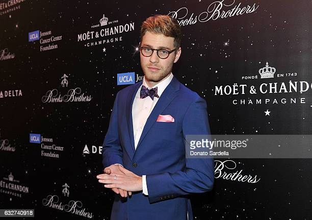 Actor Cameron Fuller attends 'Le Casino' night hosted by Brooks Brothers in Beverly Hills to benefit UCLA Jonsson Cancer Center Foundation at Brooks...