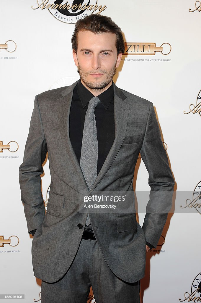 Actor Cameron Moir attends the Battaglia's 50th Anniversary of Quality & Elegance Celebration on November 14, 2013 in Beverly Hills, California.