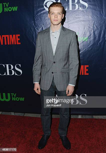 Actor Cameron Monaghan arrives at CBS CW And Showtime 2015 Summer TCA Party at Pacific Design Center on August 10 2015 in West Hollywood California
