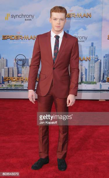 Actor Cameron Monaghan arrives at the Los Angeles Premiere 'SpiderMan Homecoming' at TCL Chinese Theatre on June 28 2017 in Hollywood California