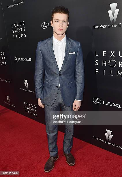 Actor Cameron Monaghan arrives to The Weinstein Company and Lexus Present Lexus Short Films at The Regal Cinemas LA Live on July 30 2014 in Los...