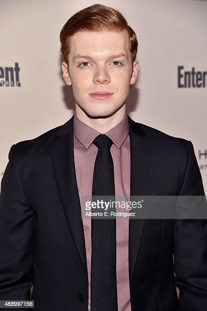 Actor Cameron Monaghan attends the 2015 Entertainment Weekly PreEmmy Party at Fig Olive Melrose Place on September 18 2015 in West Hollywood...