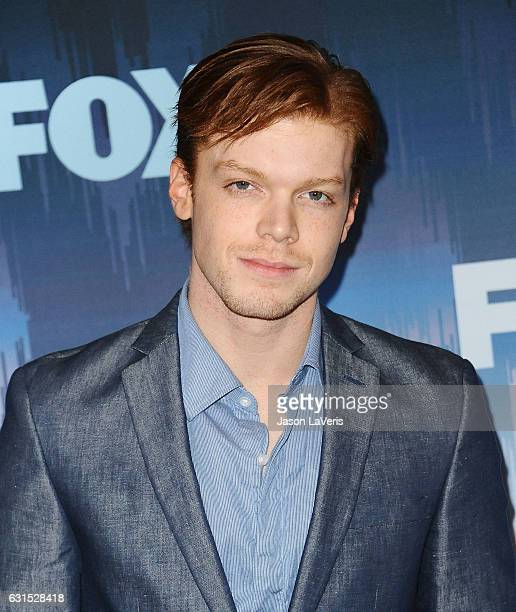 Actor Cameron Monaghan attends the 2017 FOX AllStar Party at Langham Hotel on January 11 2017 in Pasadena California