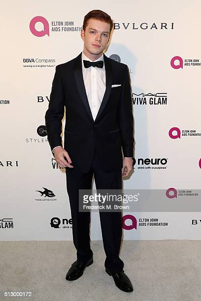 Actor Cameron Monaghan attends the 24th Annual Elton John AIDS Foundation's Oscar Viewing Party on February 28 2016 in West Hollywood California