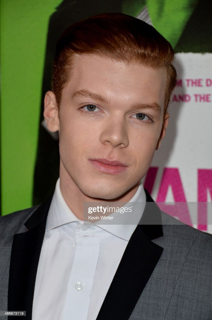 Actor <a gi-track='captionPersonalityLinkClicked' href=/galleries/search?phrase=Cameron+Monaghan&family=editorial&specificpeople=764741 ng-click='$event.stopPropagation()'>Cameron Monaghan</a> attends the premiere of The Weinstein Company's 'Vampire Academy' at Regal Cinemas L.A. Live on February 4, 2014 in Los Angeles, California.