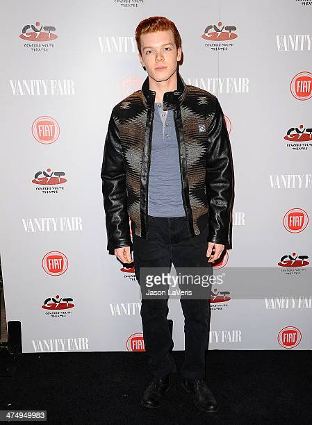 Actor Cameron Monaghan attends the Vanity Fair Campaign Young Hollywood party at No Vacancy on February 25 2014 in Los Angeles California