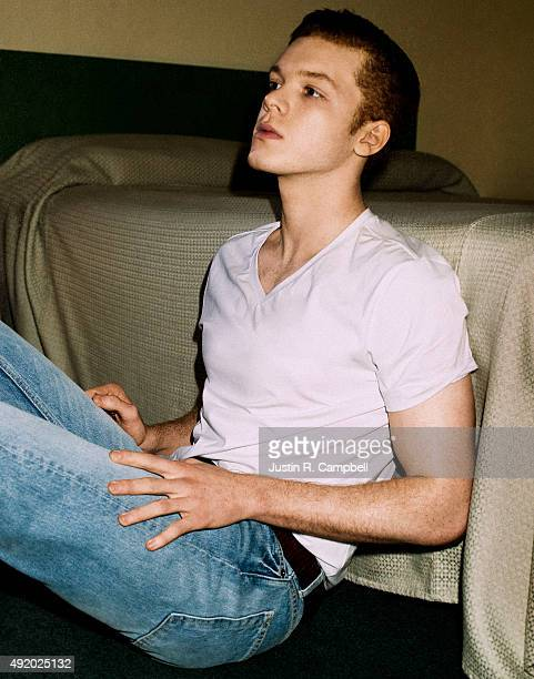 Actor Cameron Monaghan is photographed for Just Jared on February 1 2014 in Los Angeles California