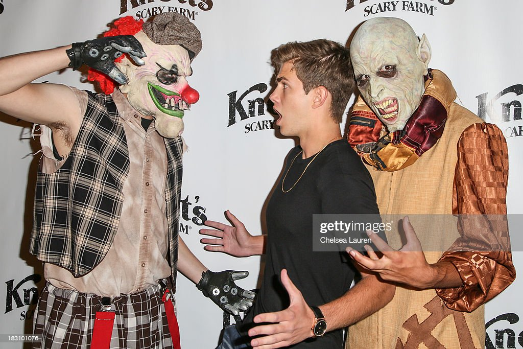Actor Cameron Palatas attends the Knott's Scary Farm 'Haunt' VIP Opening Night Party at Knott's Berry Farm on October 3, 2013 in Buena Park, California.